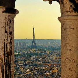 Framing the Eiffel Tower by John Malone