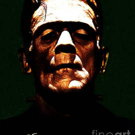 Wingsdomain Art and Photography - Frankenstein - Dark - With Text