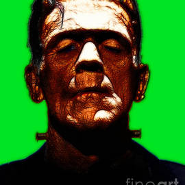 Wingsdomain Art and Photography - Frankenstein - Green