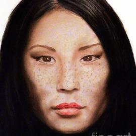 Jim Fitzpatrick - Freckle Faced Beauty Lucy Liu  III