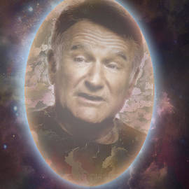 Georgeta Blanaru - Free To Fly Tribute to Robin Williams digital artwork