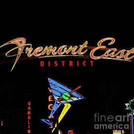 Freemont East Las Vegas by Linda Bianic