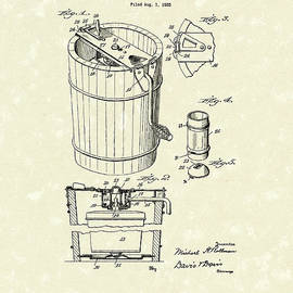 Freezer 1929 Patent Art by Prior Art Design