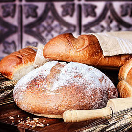 Stephanie Frey - Fresh Baked Loaves of Breads