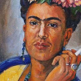 Frida Kahlo by Becky Kim