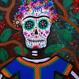 Frida Kahlo Dia De Los Muertos by Pristine Cartera Turkus