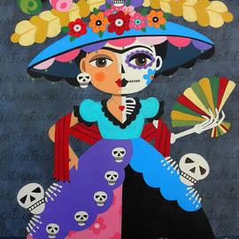 Frida Kahlo La Catrina by LuLu Mypinkturtle