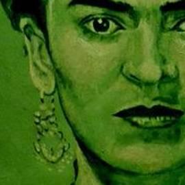 Richard Tito - Frida Kahlo - red bow