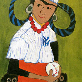Frida Kahlo's Rookie Card by Jennie Cooley