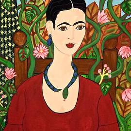 Stephanie Moore - Frida with Vines
