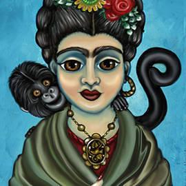 Frida's Monkey by Victoria De Almeida