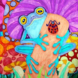 Nick Gustafson - Frog Under a Mushroom