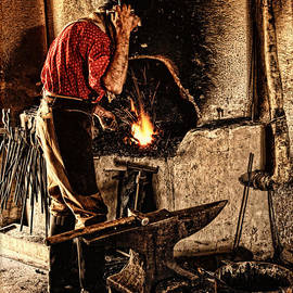 Lincoln Rogers - Frontier Blacksmith at the Forge