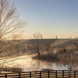 Frosty sunrise by Alexey Stiop