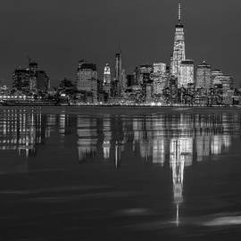 Susan Candelario - Frozen Lower Manhattan NYC BW