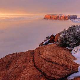 Frozen Mesa by Chad Dutson