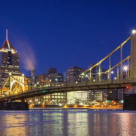 Frozen Pittsburgh by John Duffy