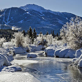River of Golden Dreams in Winter by Pierre Leclerc Photography
