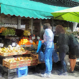 Hoboken NJ - Fruit For Sale  by Susan Savad