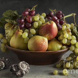 Fruits And Seashells by Elena Nosyreva