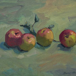 Fuji Apples by Diane McClary