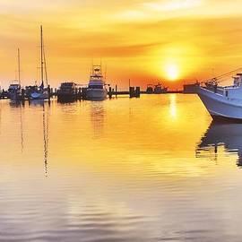 Fulton Harbor Sunrise by  Redub