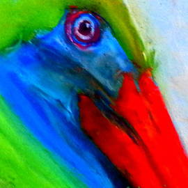 Sue Jacobi - Funky Colorful Pelican Art Prints