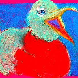 Sue Jacobi - Funky Laughing Gull Bird Art Prints