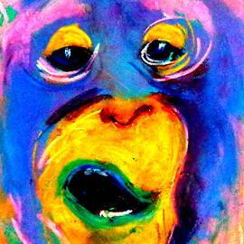 Sue Jacobi - Funky Monkey Art Print