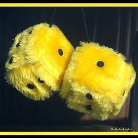 Barbara Snyder - Fuzzy Yellow Dice