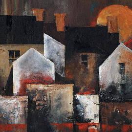 Gables Sunset by Val Byrne