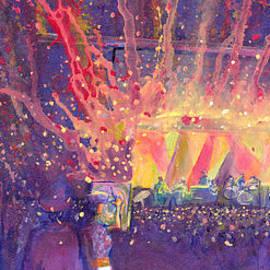 Galactic At Arise Music Festival by David Sockrider