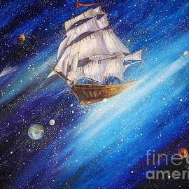 Galactic Traveler by Dariusz Orszulik