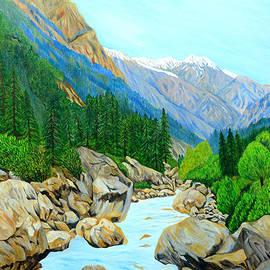 Landscape Gangotri II by Ajay Harit