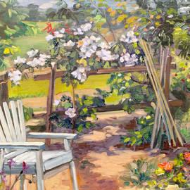 Garden corner by Dominique Amendola