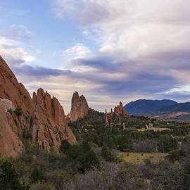 Garden Of The Gods At Sunrise - Colorado Springs by Brian Harig
