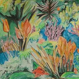 Garden Splendor by Esther Newman-Cohen