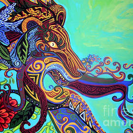 Gargoyle Lion 3 by Genevieve Esson