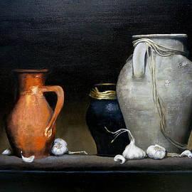 Amani Al Hajeri - Garlic and Jars