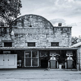 General Store in Independence Texas BW by David Morefield