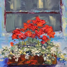 Marie Green - Geraniums Sunbathing