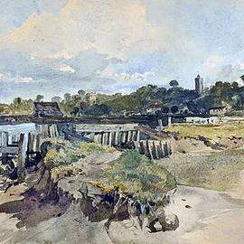 William James Muller - Gillingham Kent from the Medway