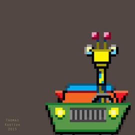 Giraffe II by Thomas Olsen