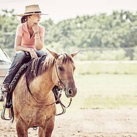 Toni Thomas - Girl on Her Horse