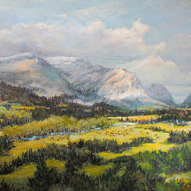 Donna Tucker - Glacier Splendor