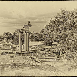 Greg Kluempers - Glanum Provence France Antique Plate DSC02014