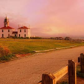 Glisten- Beavertail Park Rhode Island by Lourry Legarde