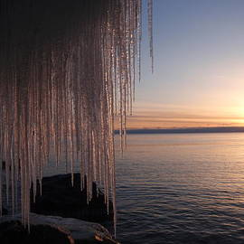 James Peterson - Glistening icy sunrise