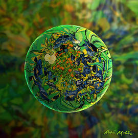 Robin Moline - Globing Earth Irises