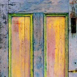 Asha Carolyn Young - GlowingThrough Painted Door